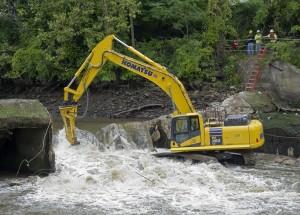 Atlas Copco Ohio dam HB 3100